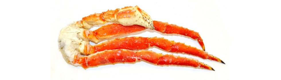 Мясо краба варёно-мороженное